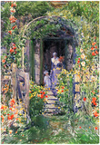 Childe Hassam Isles of Shoals Garden Art Print Poster Poster