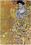 Gustav Klimt Portrait of Mrs Adele Bloch-Bauer 2 Art Print Poster Affischer