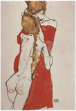 Egon Schiele (Mother and daughter) Art Poster Print Photo