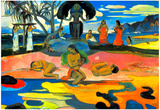Paul Gauguin Mohana No Atua Art Print Poster Posters