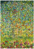 Gustav Klimt Apple Tree Art Print Poster Plakater