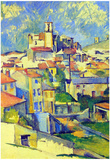 Paul Cezanne Gardanne Art Print Poster Poster