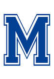 Varsity Letter M Make Your Own Banner Letter Poster Posters