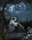Jesus (Agony in the Garden) Art Poster Print Posters