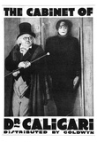 The Cabinet of Dr Caligari Movie Werner Krauss Poster Print Pôsters