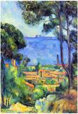 Paul Cezanne Landscape Art Print Poster Poster