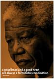 Nelson Mandela Quote iNspire Motivational Poster Kunstdrucke