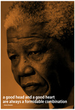Nelson Mandela Quote iNspire Motivational Poster Poster