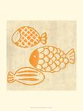 Best Friends - Fish Art by Chariklia Zarris