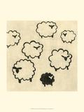 Best Friends - Sheep Affiches par Chariklia Zarris
