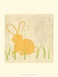 Best Friends - Bunny Prints by Chariklia Zarris