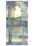 Non-Embellished Nouveau Landscape I Láminas por Jennifer Goldberger