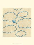 Best Friends - Sky Prints by Chariklia Zarris