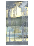 Non-Embellishd Nouveau Landscape II Premium Giclee Print by Jennifer Goldberger