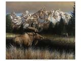 Teton Majesty Plakater af Kevin Daniel