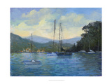 Portofino Bay Posters par Mary Jean Weber