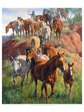 Ladies First Poster von Jack Sorenson