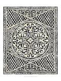 Woodcut in Black I Reproduction giclée Premium par Chariklia Zarris