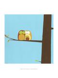 Treetop Owls IV Reproduction giclée Premium par Erica J. Vess