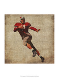 Vintage Sports IV Art by John Butler