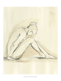 Neutral Figure Study I Reproduction giclée Premium par Ethan Harper