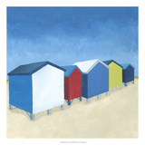 Beach Retreat I Affiches par Megan Meagher