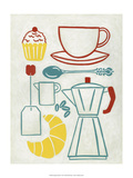 Sunday Brunch Prints by Chariklia Zarris
