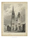 Eglise de St. Denis Posters par A. Pugin
