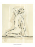 Neutral Figure Study IV Reproduction giclée Premium par Ethan Harper