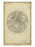 Antique Astronomy Chart I Poster par Daniel Diderot
