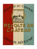 Recolte Du Chateau Poster