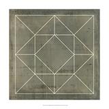 Geometric Blueprint VIII Plakat