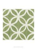 Garden Tile IV Reproduction giclée Premium par Chariklia Zarris