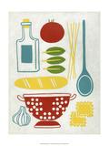 Sunday Dinner Print by Chariklia Zarris