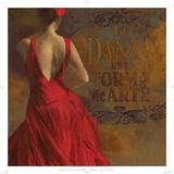 La Dance I Plakater af Aimee Wilson