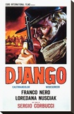 Django Stretched Canvas Print