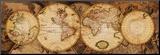 Mapa-múndi: Nova Totius Terrarum Orbis Impressão montada