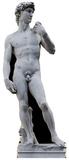 Michelangelo's David- Statue Pappfiguren
