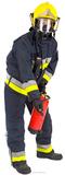 Fireman Figura de cartón