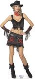 Cowgirl babe Figura de cartón