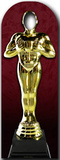 Award Statue Stand-In Lifesize Standup Pappfigurer