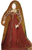 Tudor Woman-Stand-In Figura de cartón