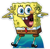 SpongeBob Squarepants -Surprise Cardboard Cutouts
