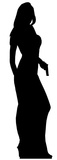 Secret Agent Girl-Single Pack Figura de cartón