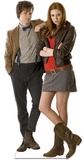 Doctor Who-The Doctor and Companion Cardboard Cutouts
