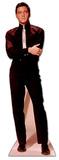 Elvis in Black Suit and White Tie Silhouettes découpées en carton