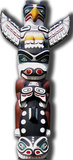 Totem Pole Pappfigurer