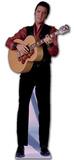 Elvis-Singing with Guitar Silhouettes découpées en carton