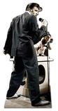 Elvis-Hound Dog Pappfigurer