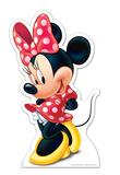 Minnie Silhouettes découpées en carton